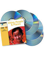China: People  and  Places 5-Pack CD-ROM
