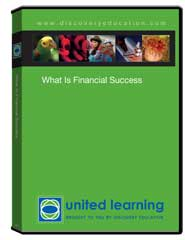 What Is Financial Success? DVD