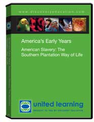 American Slavery: The Southern Plantation Way of Life DVD