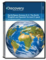 Earth/Space Science K-2: The Earth (English and Spanish Version) 2-Pack