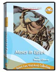 Rabbit Ears Storybook Collection: Moses in Egypt DVD