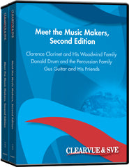 Meet the Music Makers, Second Edition 6-Pack DVD