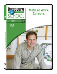 Math at Work: Careers DVD