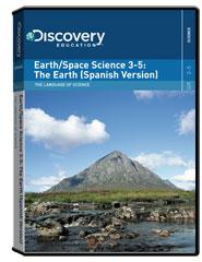 The Language of Science: Earth/Science 3-5: The Earth Spanish DVD