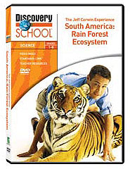 Jeff Corwin Experience: South America: A Rain Forest Ecosystem DVD