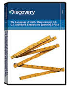 The Language of Math: Measurement 3-5: U.S. Standard (English and Spanish) 2-Pack DVD