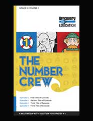 The Number Crew: Halve and Quarters as Parts of A Whole DVD