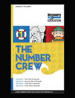 The Number Crew: Adding Number Families to 5 DVD