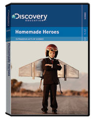Outrageous Acts of Science: Homemade Heroes DVD