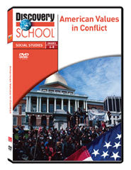 American Values in Conflict DVD