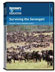 Nature's Most Amazing Events: Surviving the Serengeti DVD
