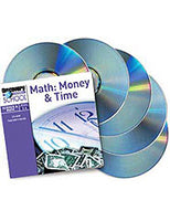 Math: Money  and  Time 5-Pack CD-ROM