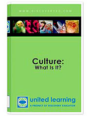 Culture: What is It? DVD