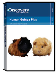 Outrageous Acts of Science: Human Guinea Pigs DVD
