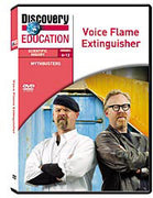 MythBusters: Voice Flame Extinguisher DVD