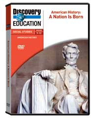American History: A Nation Is Born DVD
