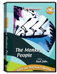 Rabbit Ears Storybook Collection: The Monkey People DVD