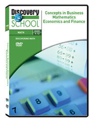 Concepts in Business Mathematics: Economics and Finance DVD