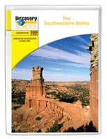 American Geography Close-ups: The Southwestern Region 2-Pack DVD