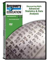 Discovering Math: Advanced Statistics  and  Data Analysis DVD
