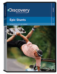 Outrageous Acts of Science: Epic Stunts DVD