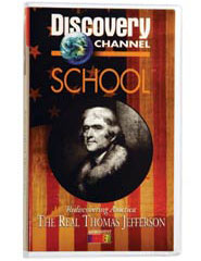 Rediscovering America: The Real Thomas Jefferson DVD