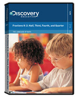 The Language of Math: Fractions K-2: Half, Third, Fourth, and Quarter DVD