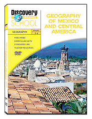 Geography of Mexico and Central America DVD