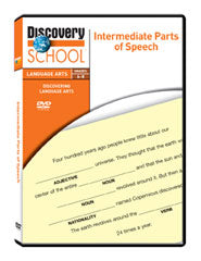 Intermediate Parts of Speech DVD