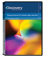 The Language of Science: Physical Science K-2: Sound, Light, and Color DVD