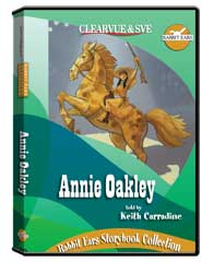 Rabbit Ears Storybook Collection: Annie Oakley DVD