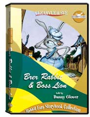 Rabbit Ears Storybook Collection: Brer Rabbit  and  Boss Lion DVD