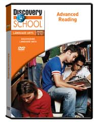 Discovering Language Arts: Advanced Reading DVD