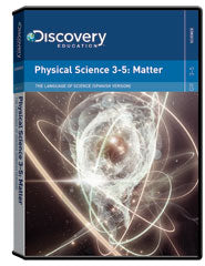 The Language of Science:  (Spanish) Physical Science 3-5: Matter DVD