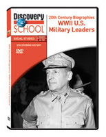 20th Century Biographies: WWII U.S. Military Leaders DVD