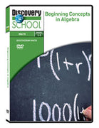 Beginning Concepts in Algebra DVD