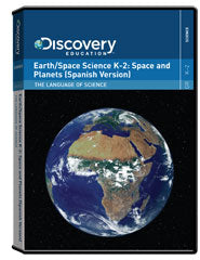 The Language of Science: Earth/Space Science K-2:                     Space and Planets (Spanish Version) DVD