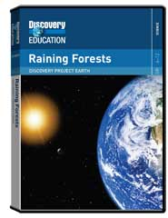 Discovery Project Earth - Raining Forests DVD
