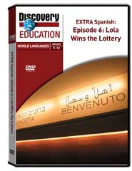 EXTRA Spanish Episode 6: Lola Wins the Lottery DVD