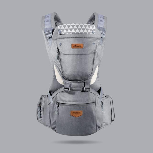 Sunveno Baby Carrier Grey - Bags By Benson