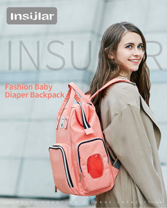 Insular Nappy Backpack II - Bags By Benson
