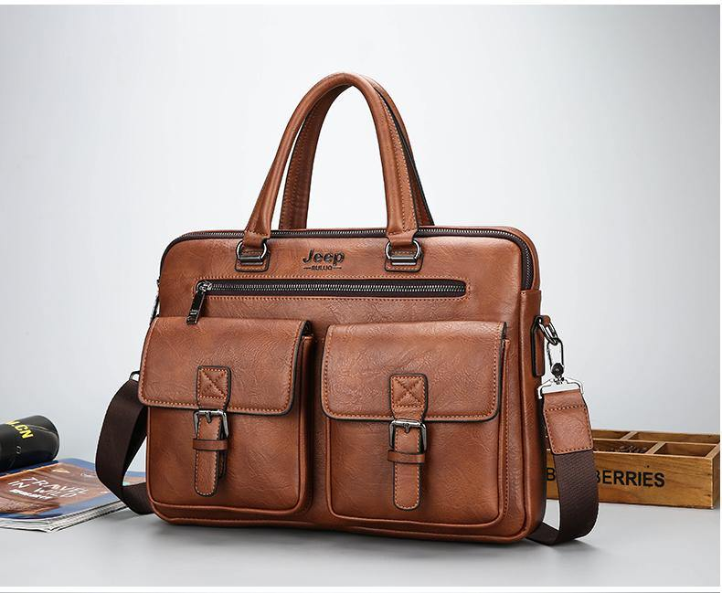 3920b4efd0 ... Jeep Buluo Leather Laptop - Bags By Benson ...