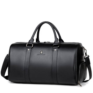 Purani Leather Weekender - Bags By Benson