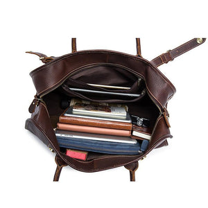 Berchirly Leather Weekender - Bags By Benson