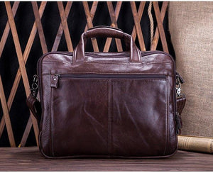 Tagdot Leather Laptop III - Bags By Benson
