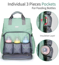 Insular Nappy Backpack III - Bags By Benson