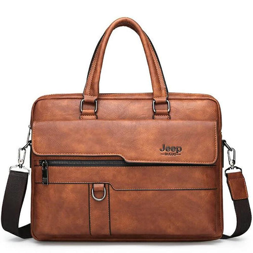 Jeep Buluo Leather Briefcase II