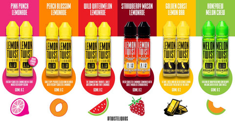 Lemon Twist E-Liquid 120ML (2x60ML)