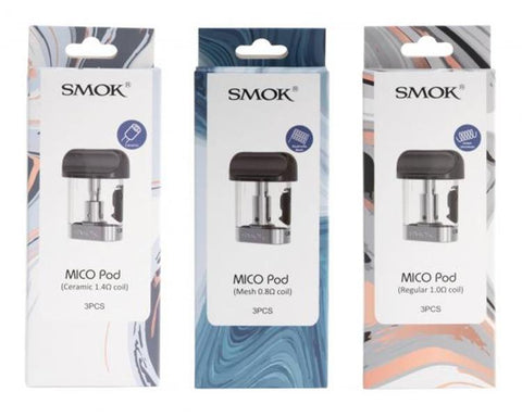 SMOK Mico Replacement Pod Cartridges (3 Pc)