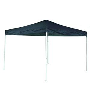 Aleko Gazebo ALEKO - Iron Foldable Gazebo Canopy - Oxford Fabric - 10X13 Feet - Blue